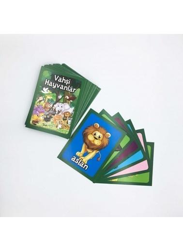 Artikel Vahşi Hayvanlar Eşleştirme Hafıza Kart Oyunu Renkli